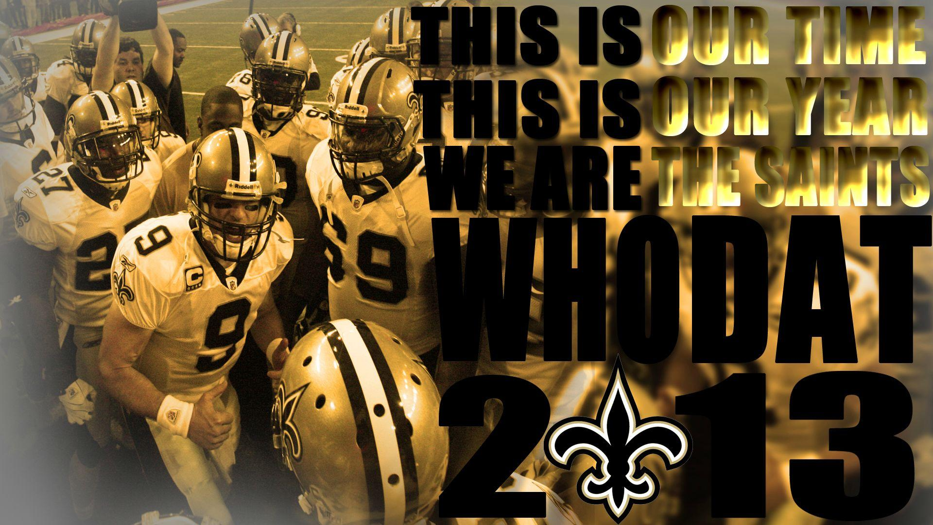Wallpaper New Orleans Saints Who Dat