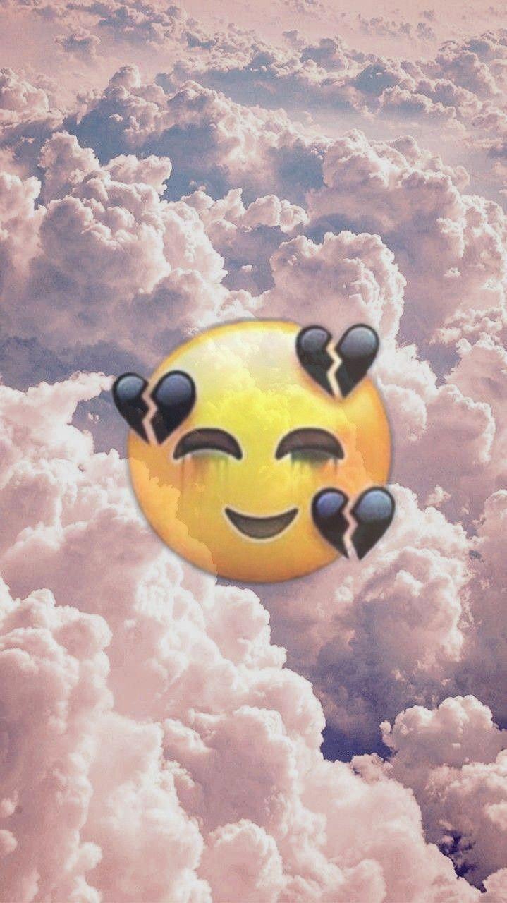 Cute iPhone Emojis Wallpapers - Wallpaper Cave