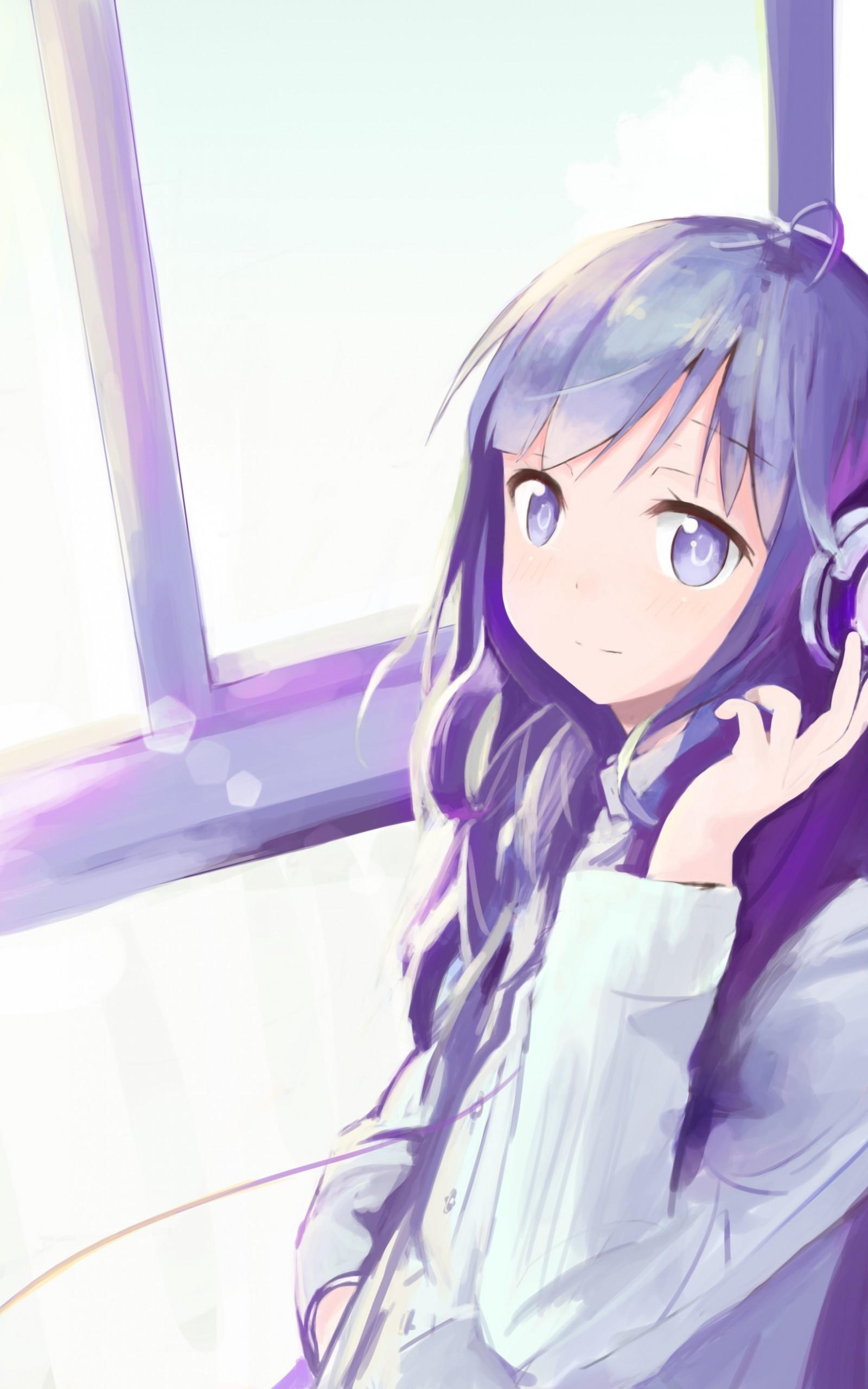 Anime Girl Headphone Wallpapers Wallpaper Cave