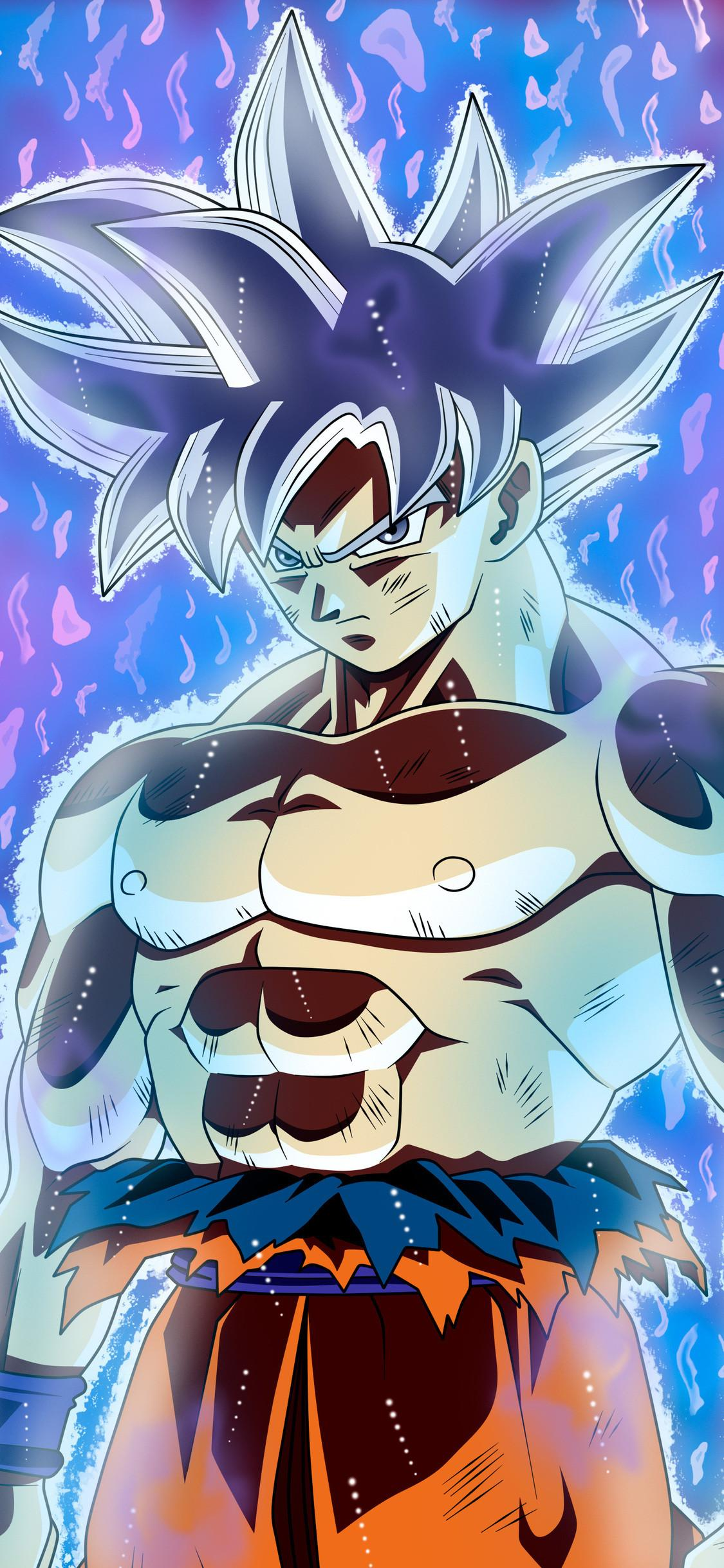 Ultra Instinct Goku Iphone Wallpapers Wallpaper Cave