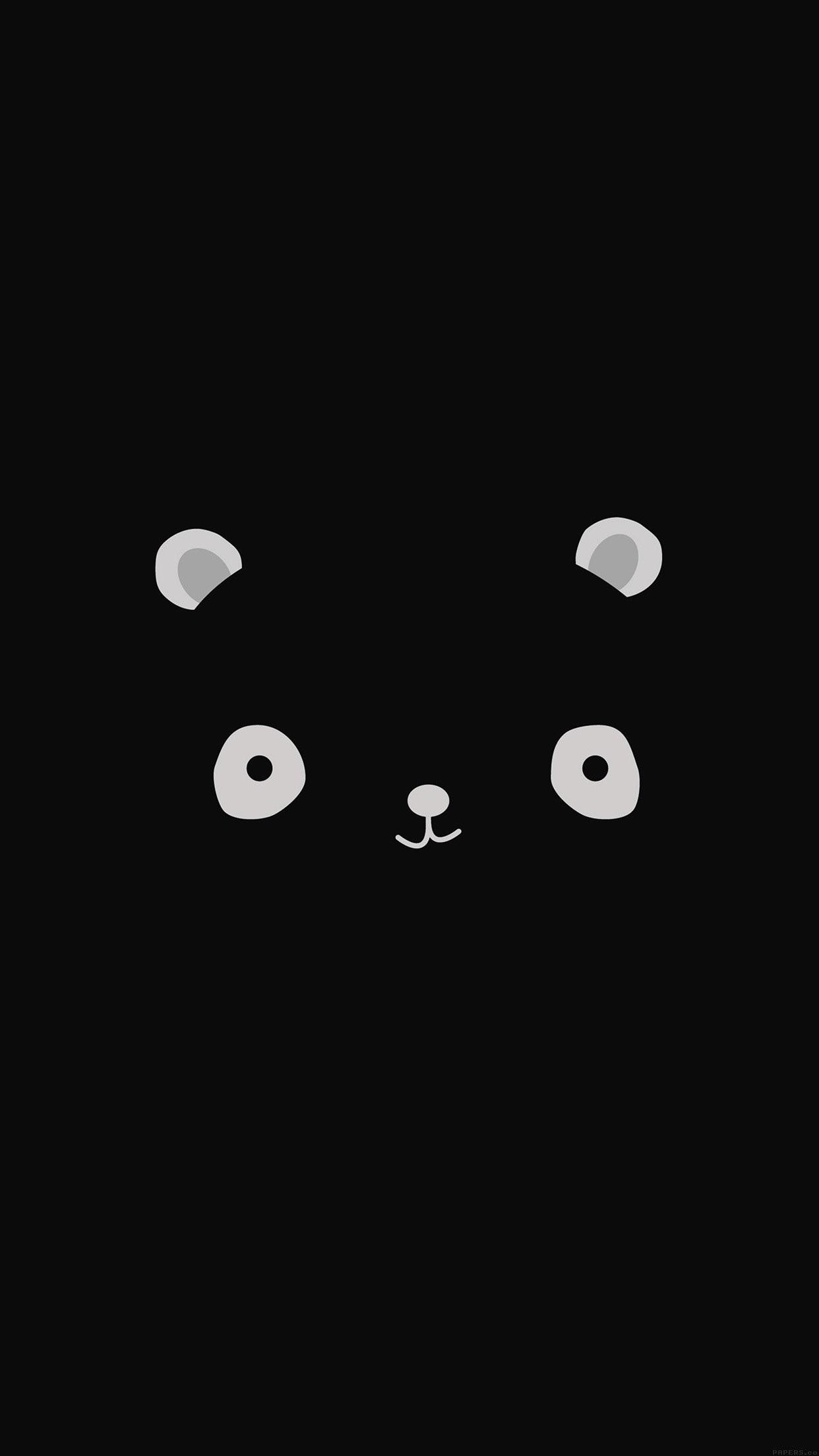 Iphone Cute Black Wallpapers Wallpaper Cave