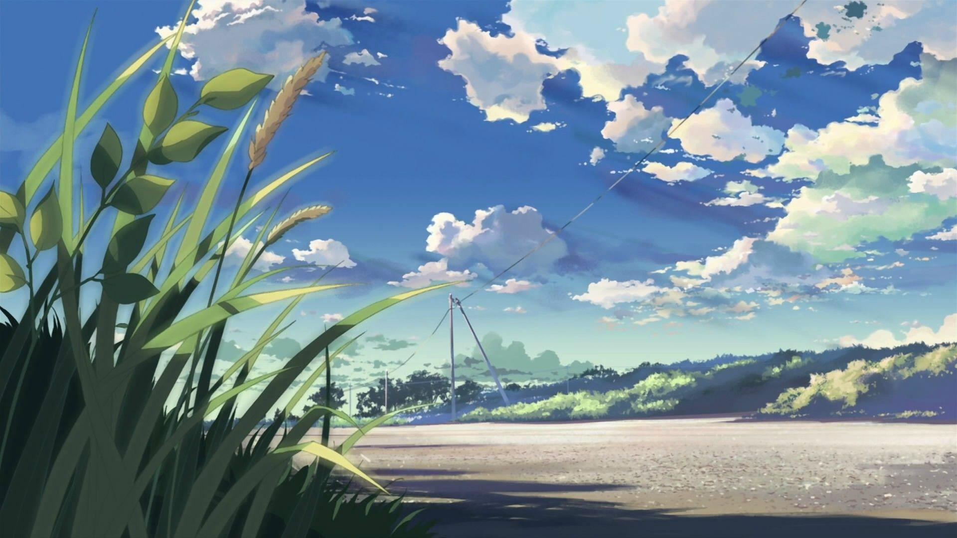 Aesthetic Anime Scenery Hd Wallpapers Wallpaper Cave