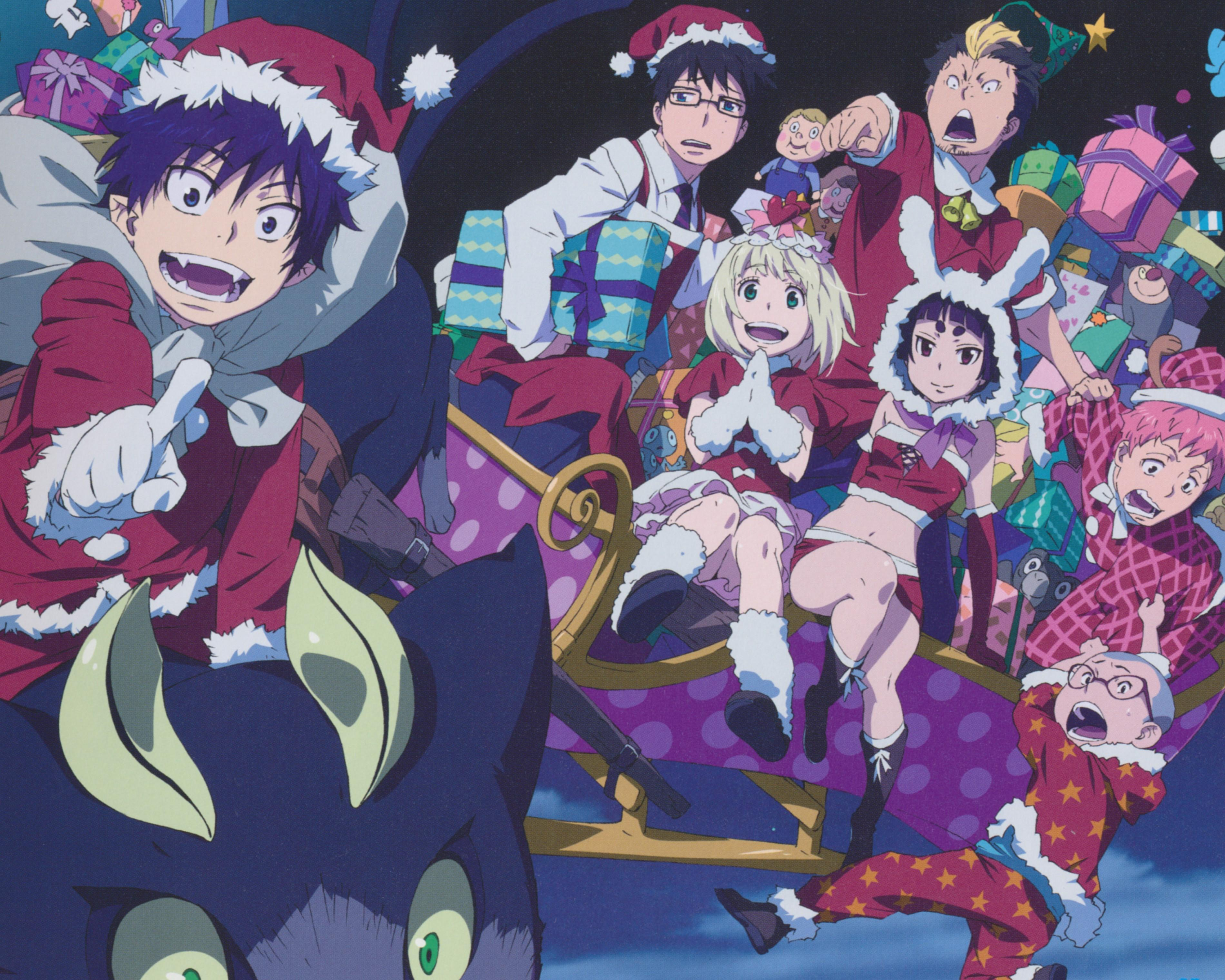 Merry Christmas Anime Wallpapers Wallpaper Cave 14 christmas anime wallpaper