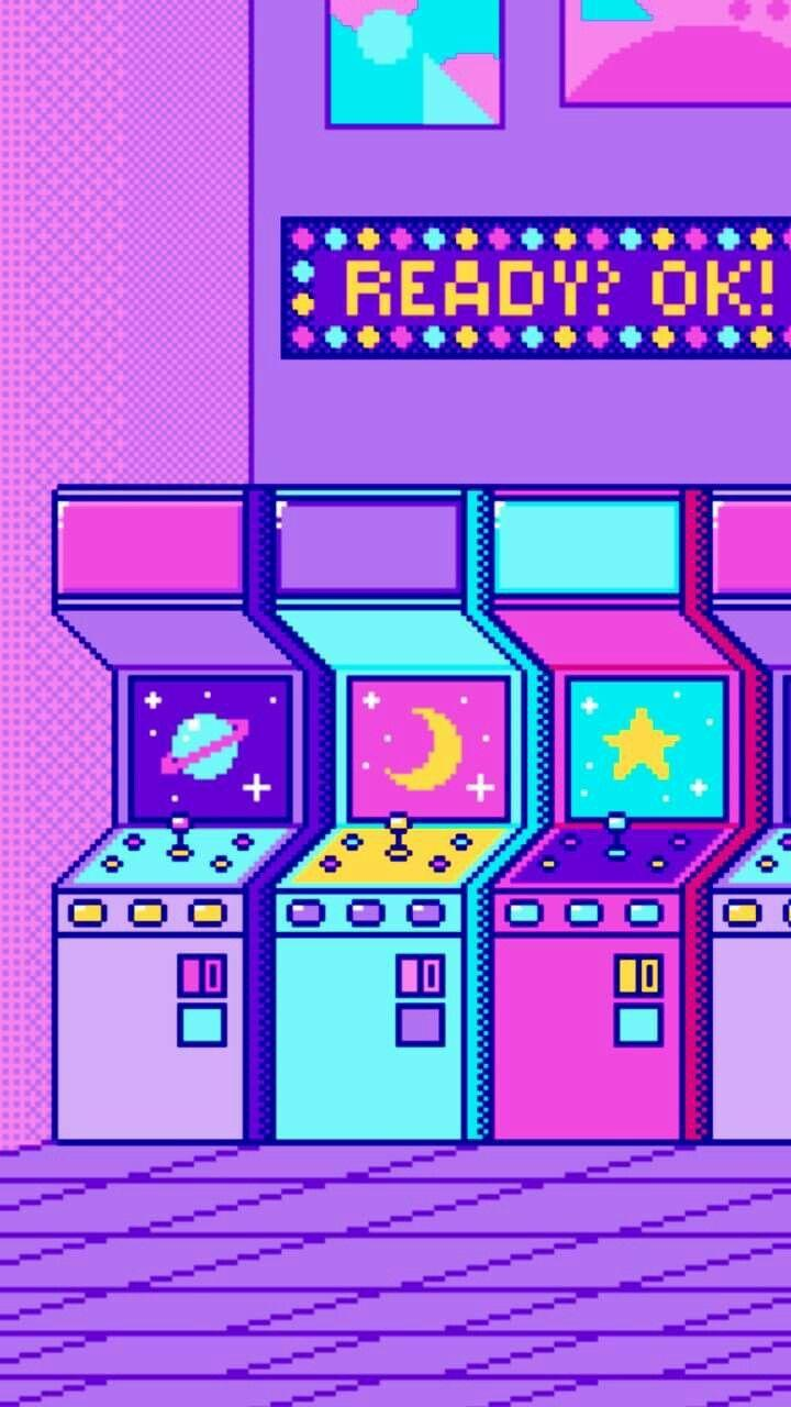 Aesthetic Arcade Wallpapers Wallpaper Cave