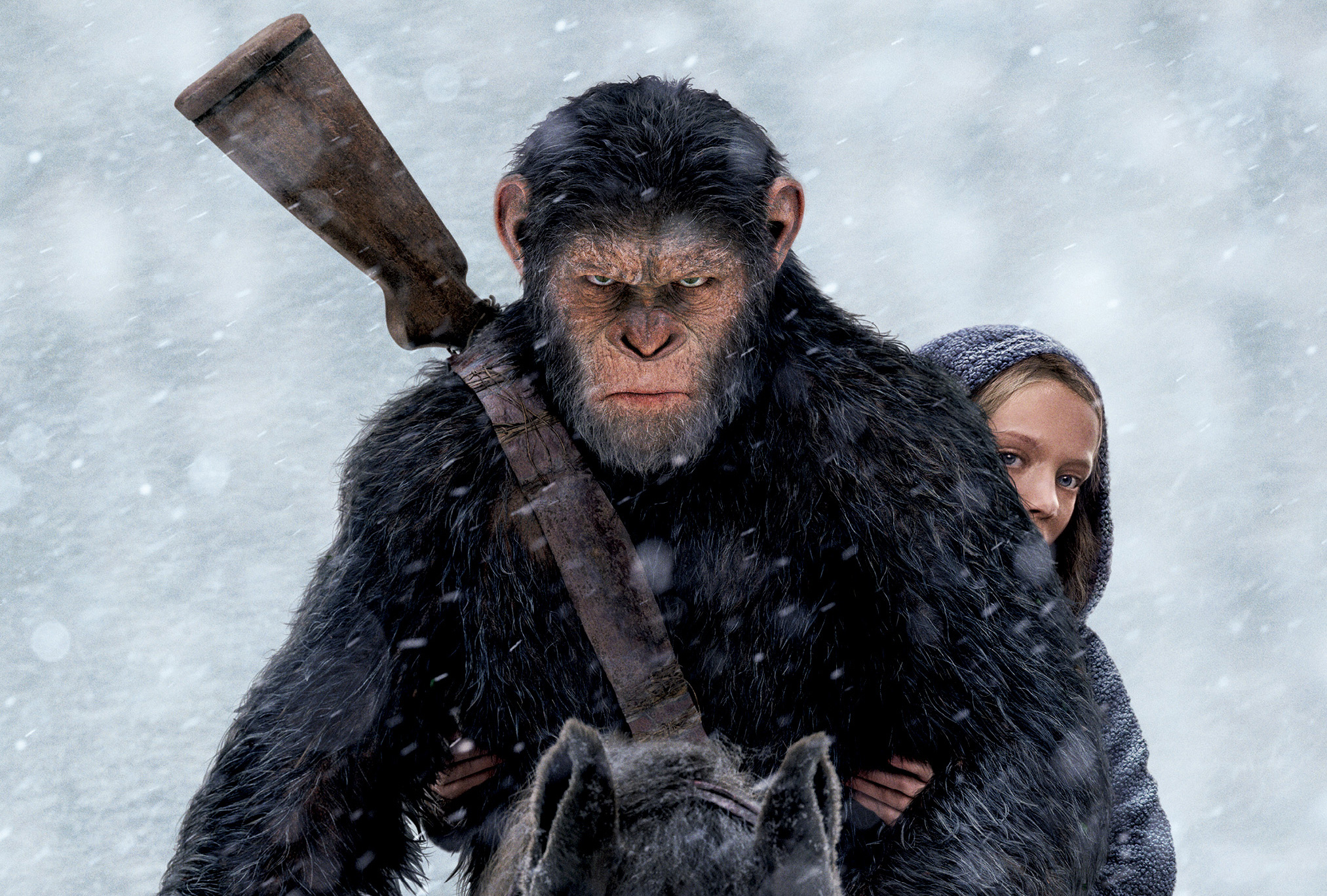 War For The Planet Of The Apes Wallpapers Wallpaper Cave