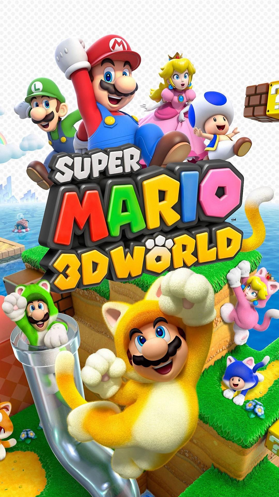 Mario Bros Iphone Wallpapers Wallpaper Cave