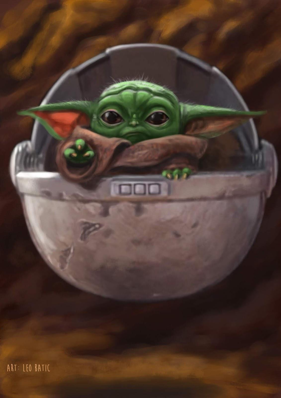 Baby Yoda Iphone Wallpapers Wallpaper Cave