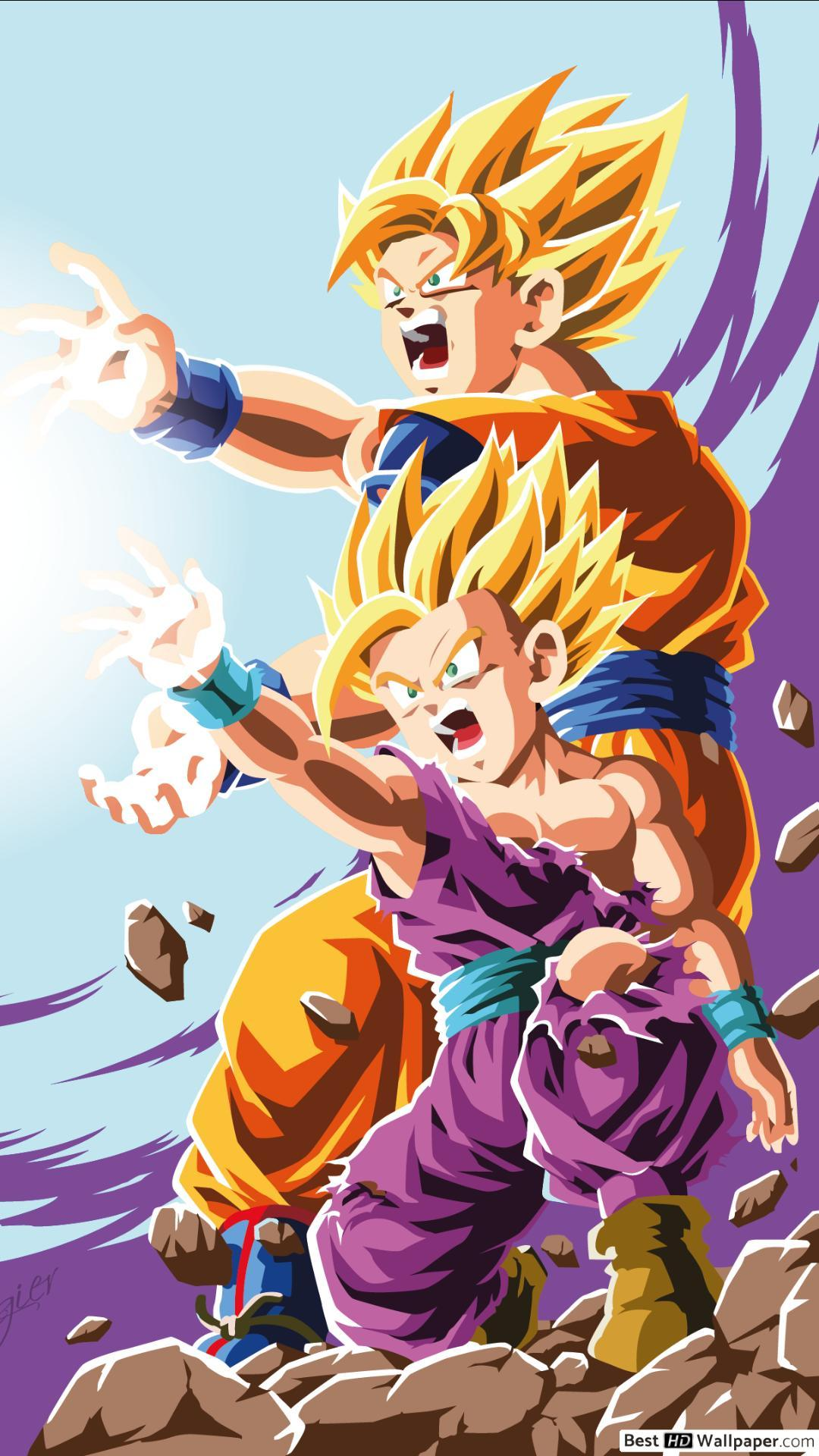 Dragon Ball Z Iphone 8 Wallpapers Wallpaper Cave