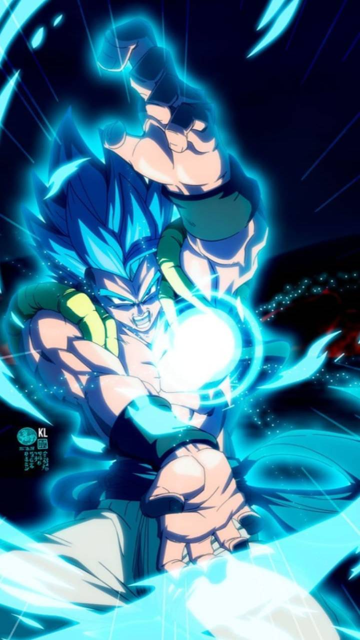 Gogeta Blue wallpapers by pullpowerninja1234