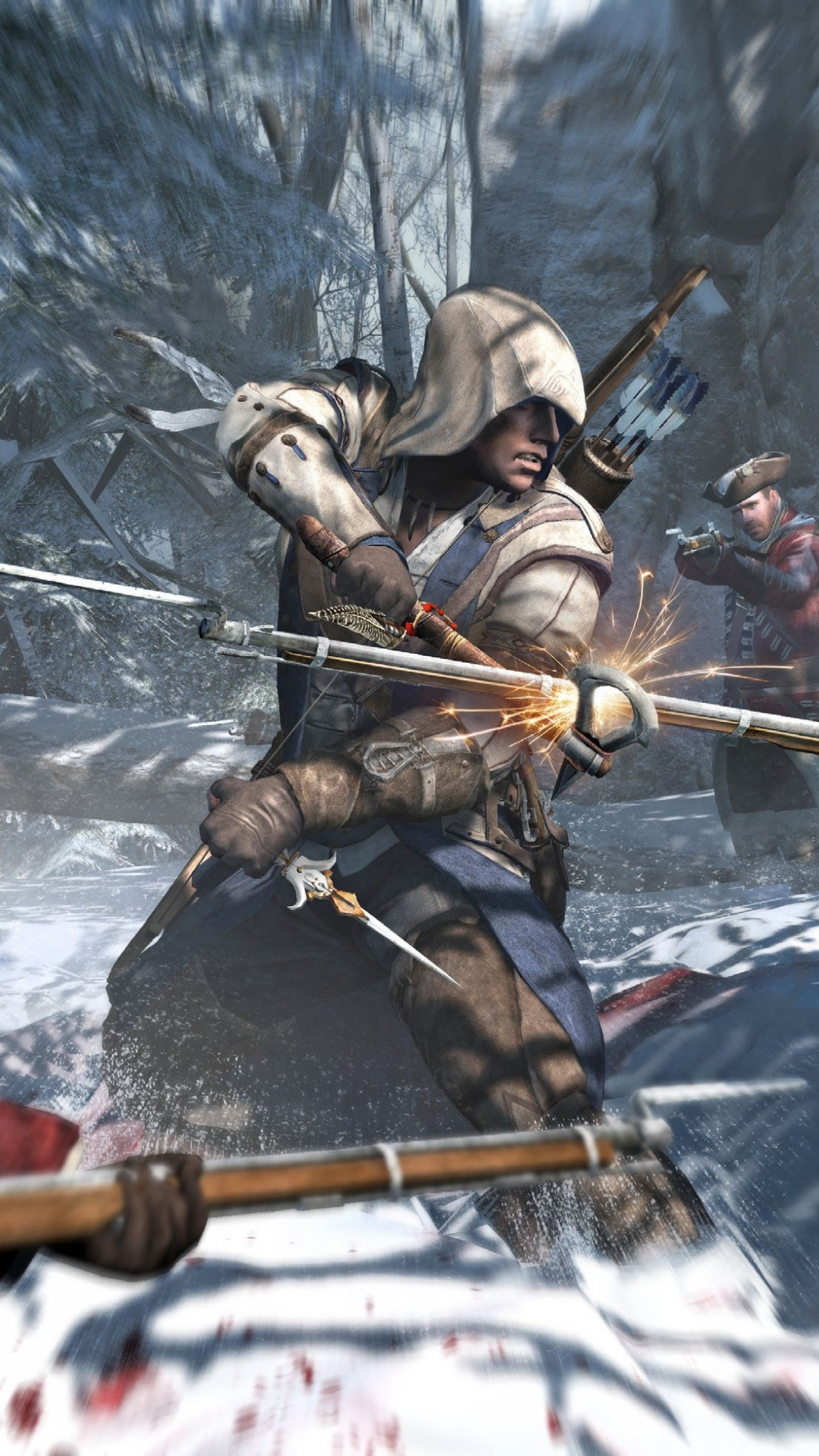 Assassin S Creed Iii Mobile Wallpapers Wallpaper Cave