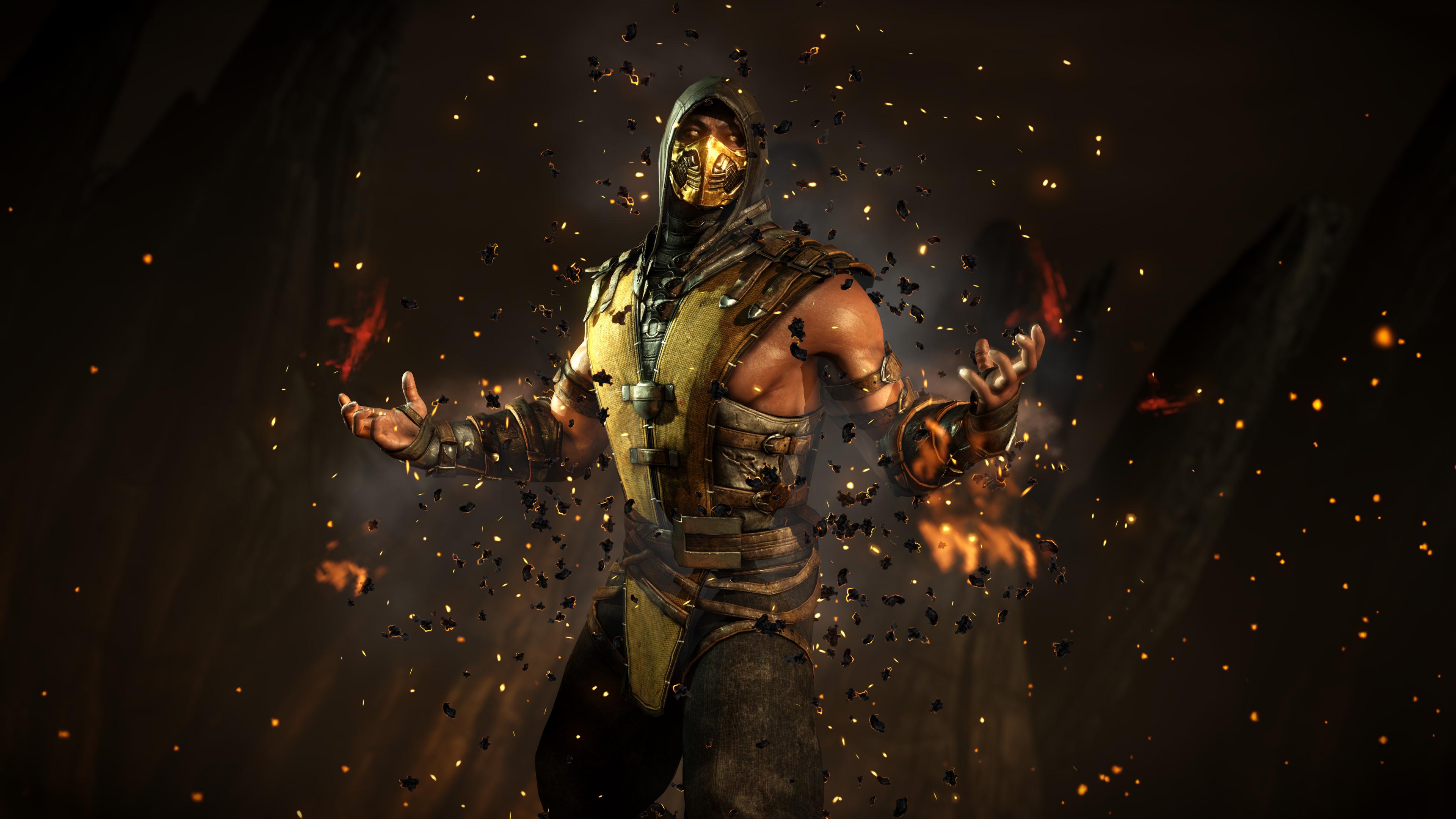Mortal Kombat 4k Wallpapers Wallpaper Cave