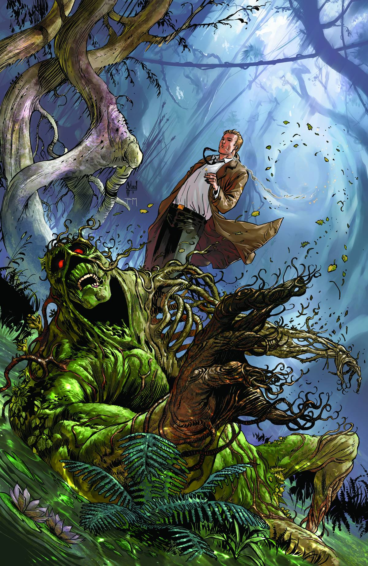 Swamp Thing Comic Wallpapers Wallpaper Cave