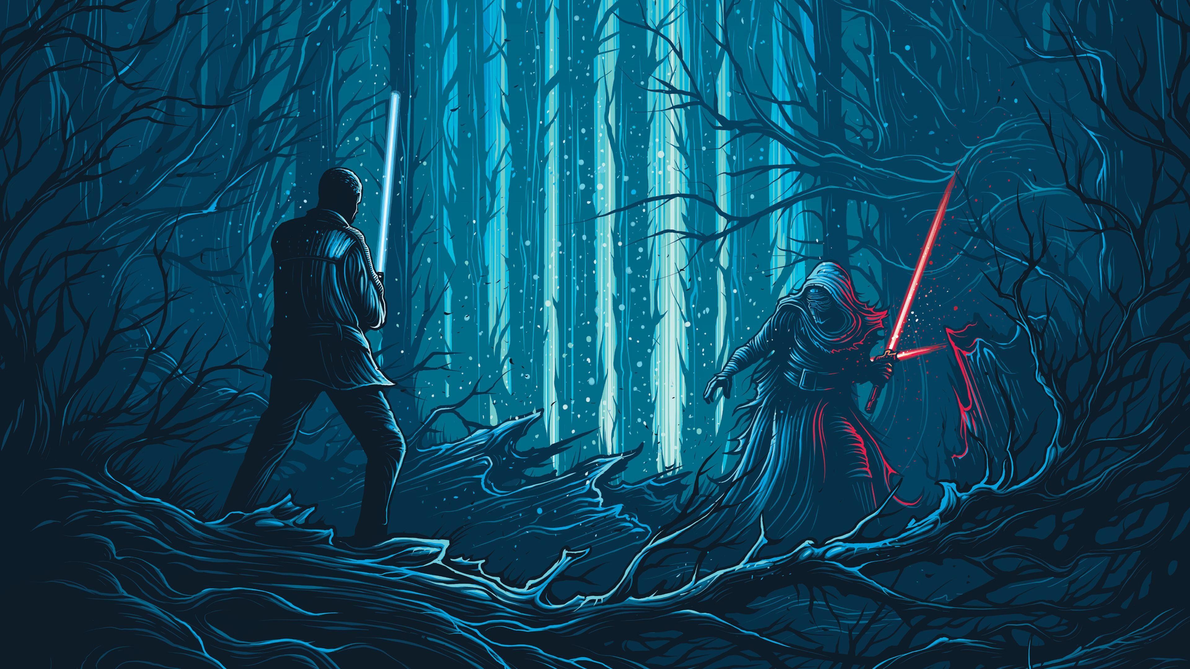 Blue Star Wars Desktop 4k Wallpapers Wallpaper Cave