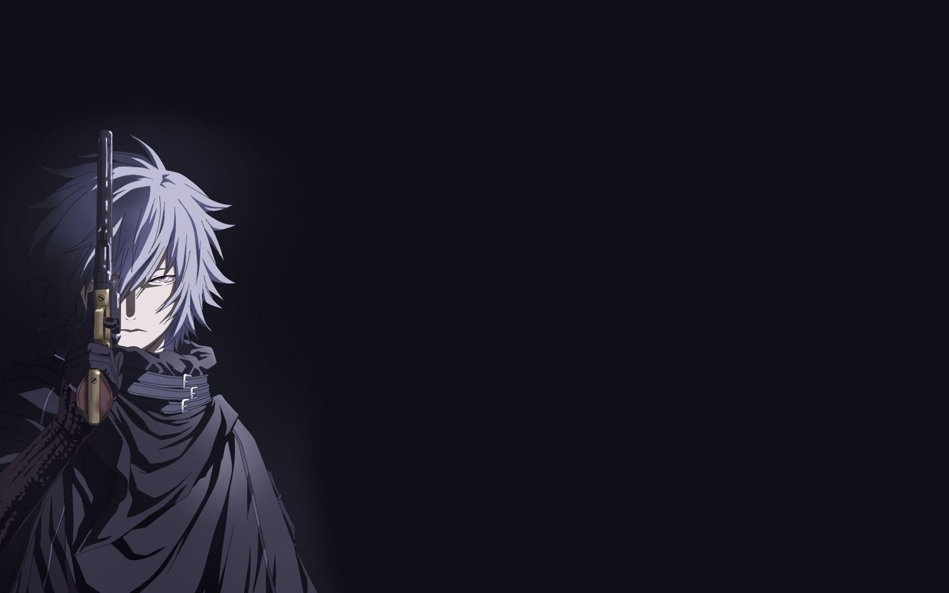 Anime Desktop Dark Wallpapers Wallpaper Cave