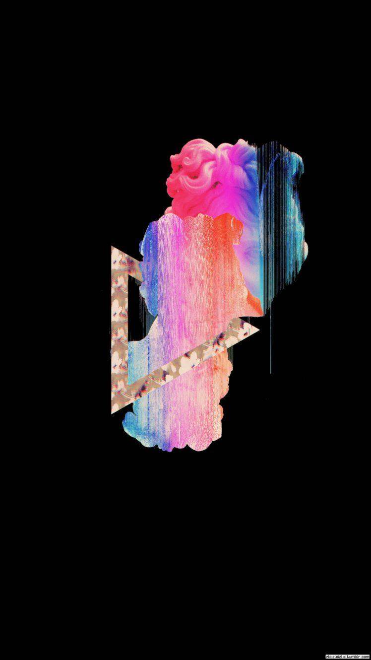 Black Aesthetic Glitch Wallpapers - Wallpaper Cave