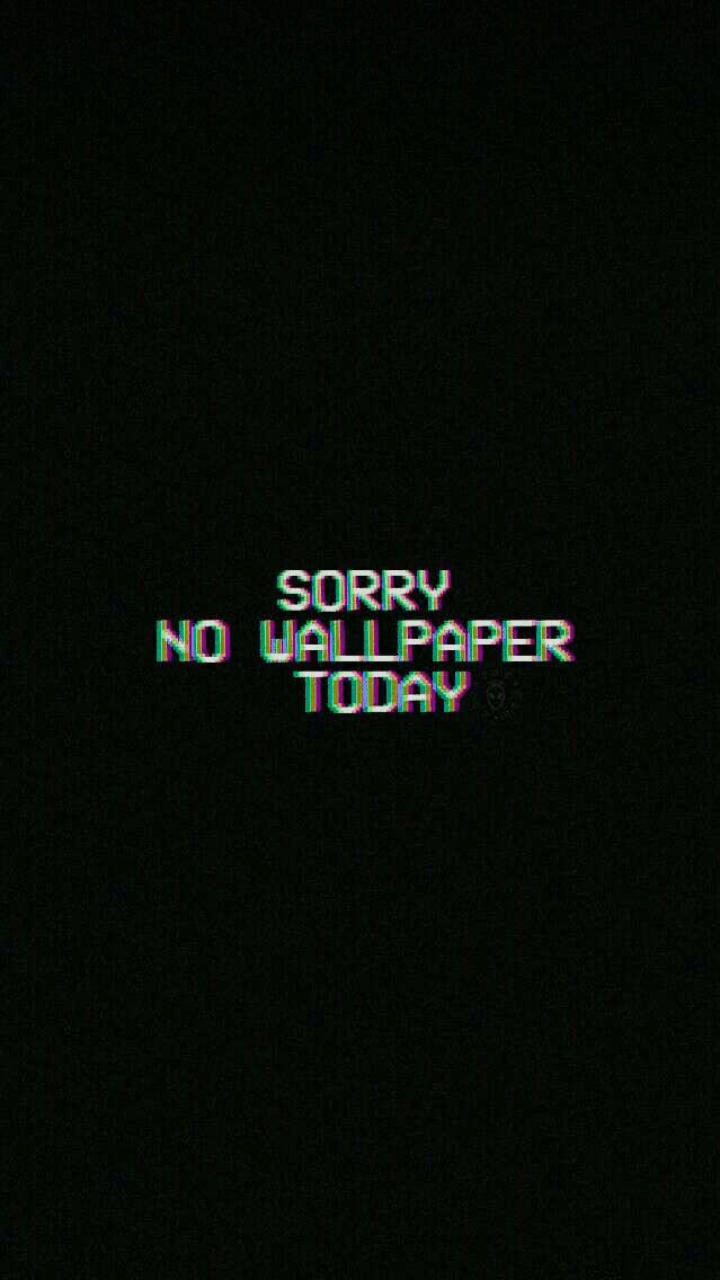 black aesthetic glitch wallpapers