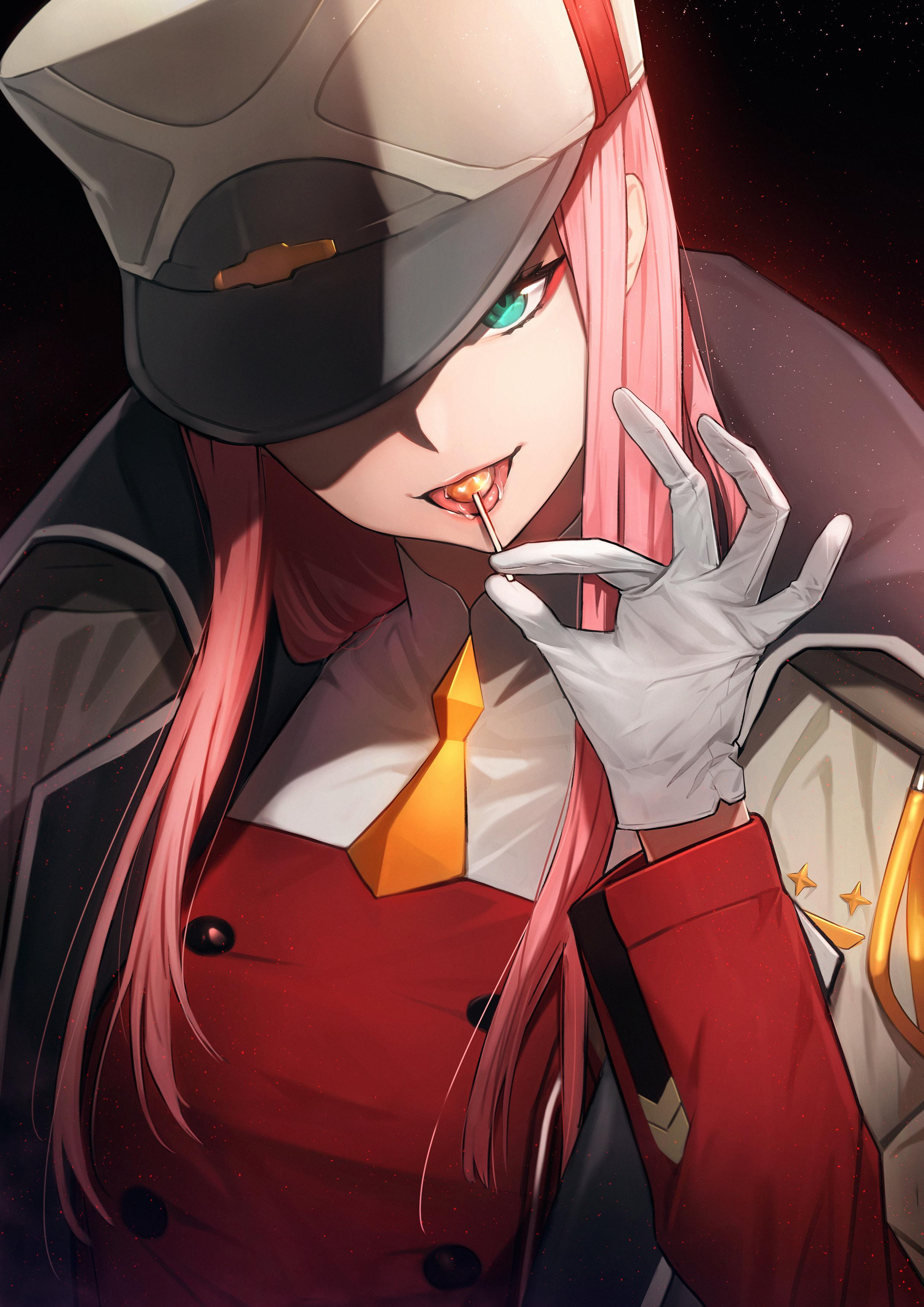 Zero Two Hd Iphone Wallpapers Wallpaper Cave