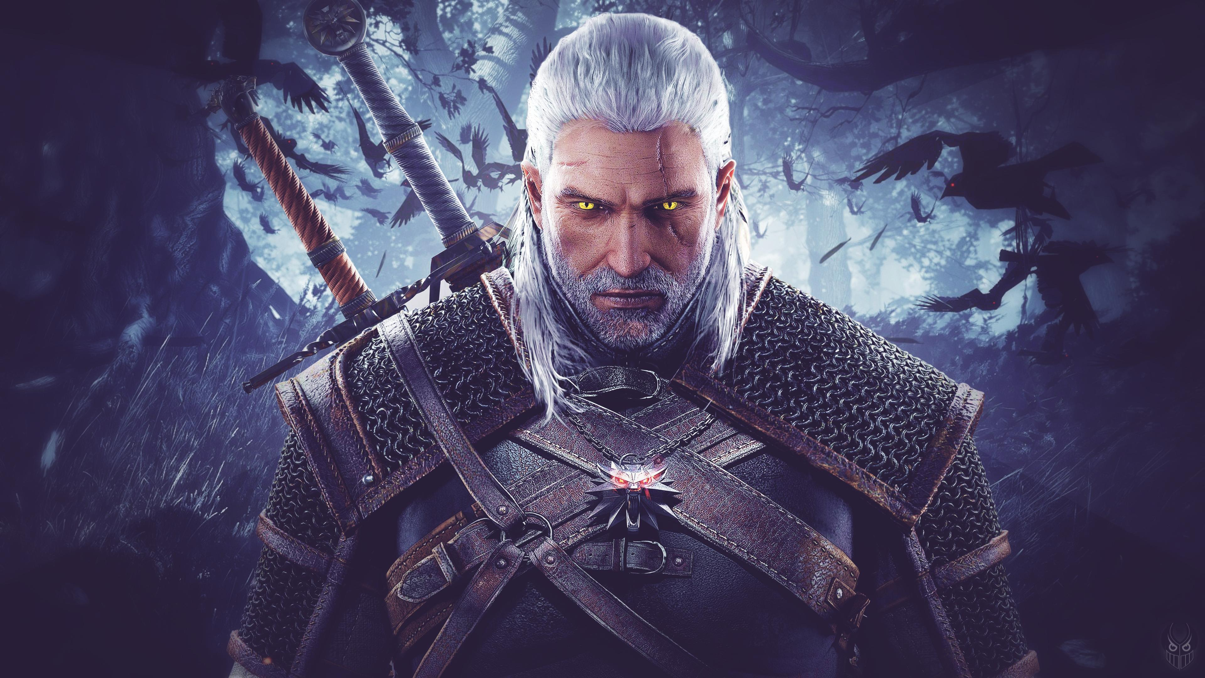 The Witcher 4K Wallpapers - Wallpaper Cave