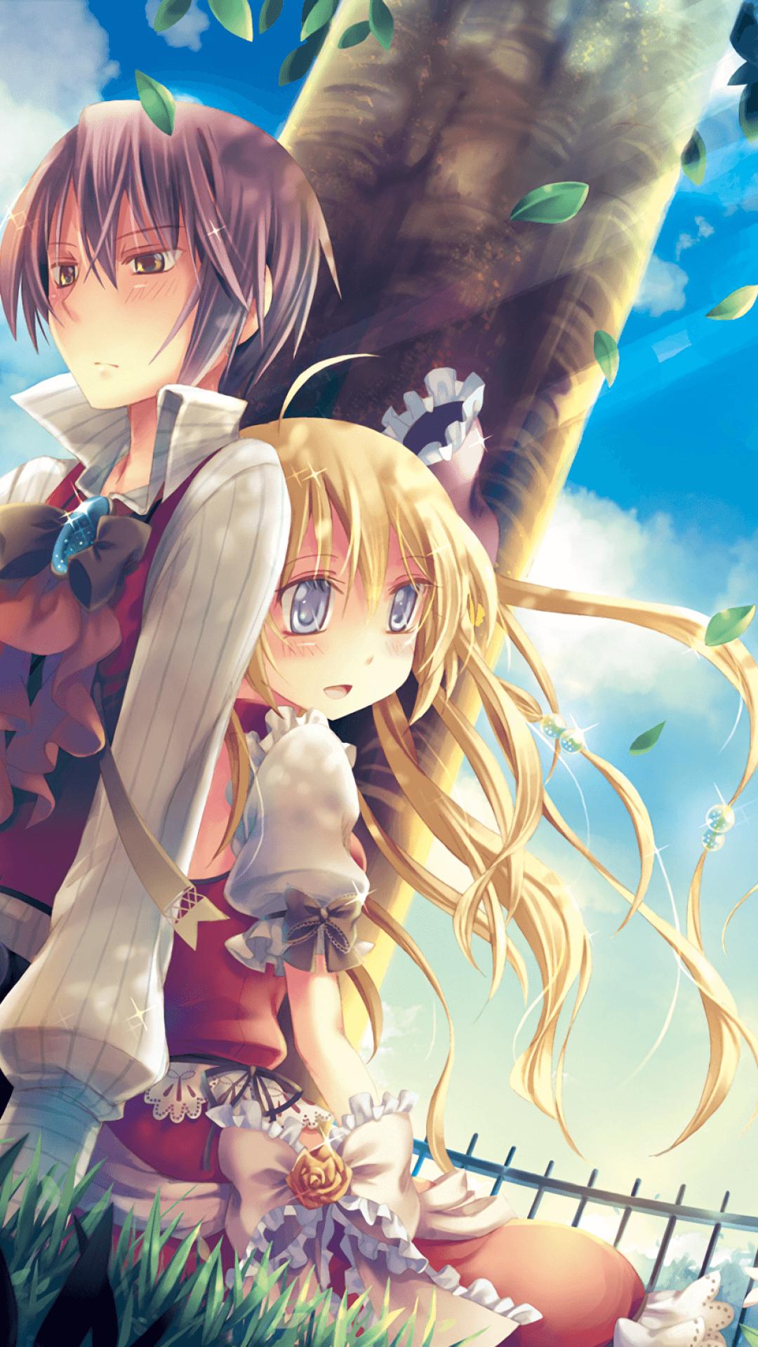 Wallpaper Romantis Anime