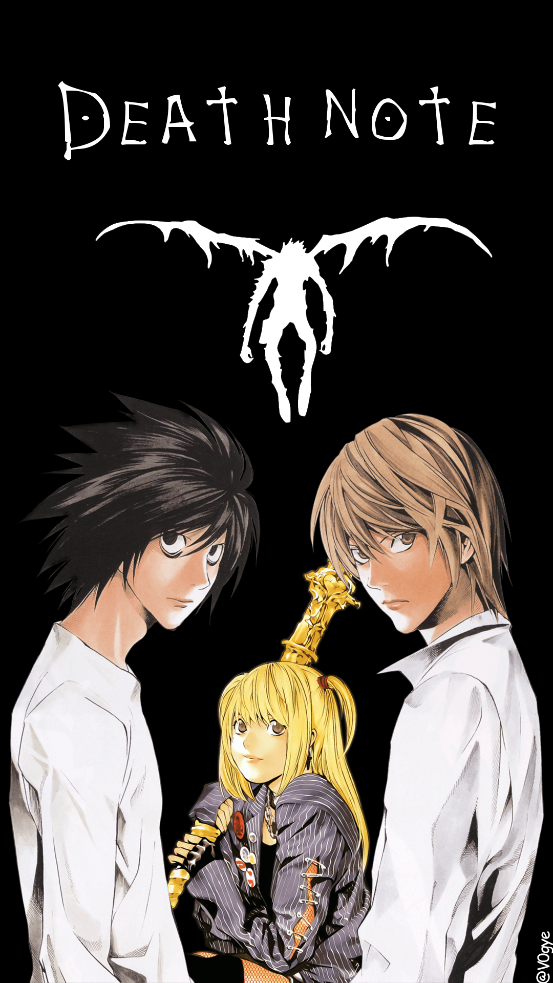 Death Note Phone Wallpapers - Wallpaper Cave