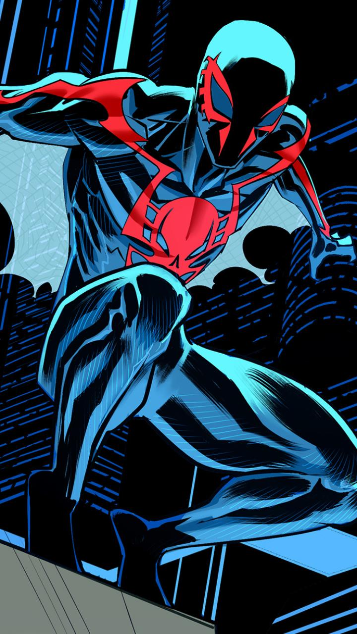 Spider Man 2099 Phone Wallpapers Wallpaper Cave