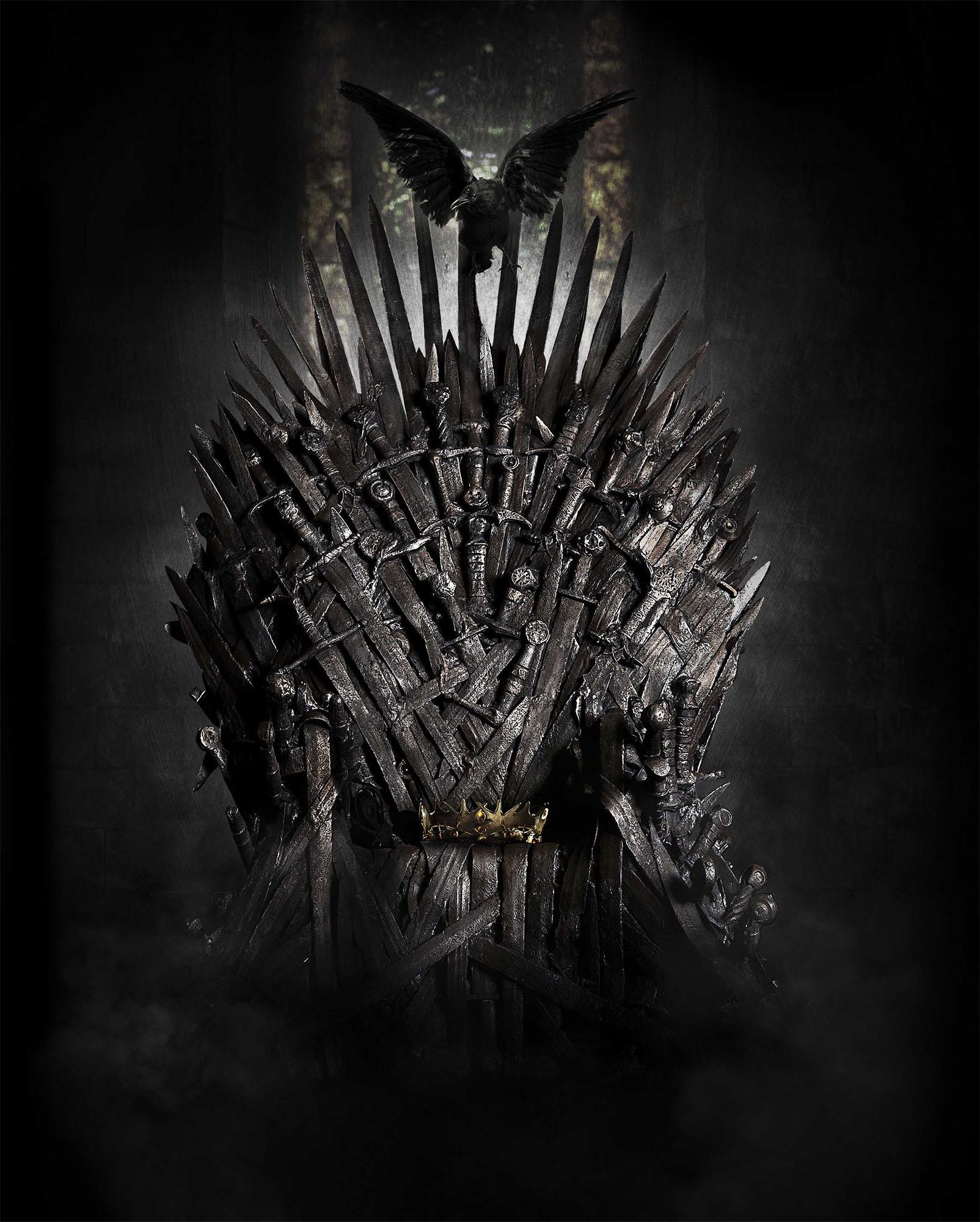 Game Of Thrones Chair Mobile Wallpapers Wallpaper Cave
