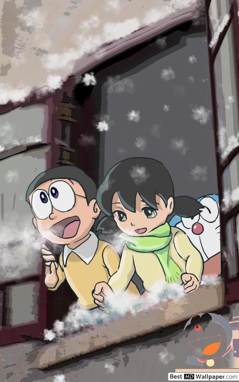 Nobita And Doraemon 3D Phone Wallpapers - Wallpaper Cave