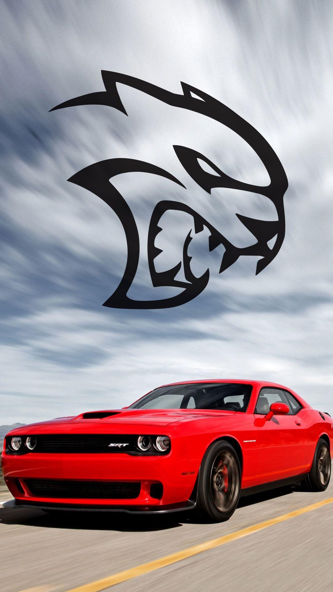 Dodge Hellcat Iphone Wallpapers Wallpaper Cave