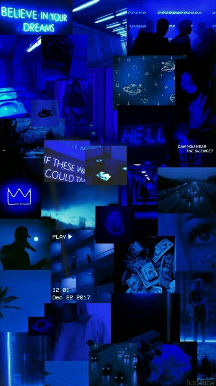 Blue Aesthetic Tumblr Wallpapers Wallpaper Cave