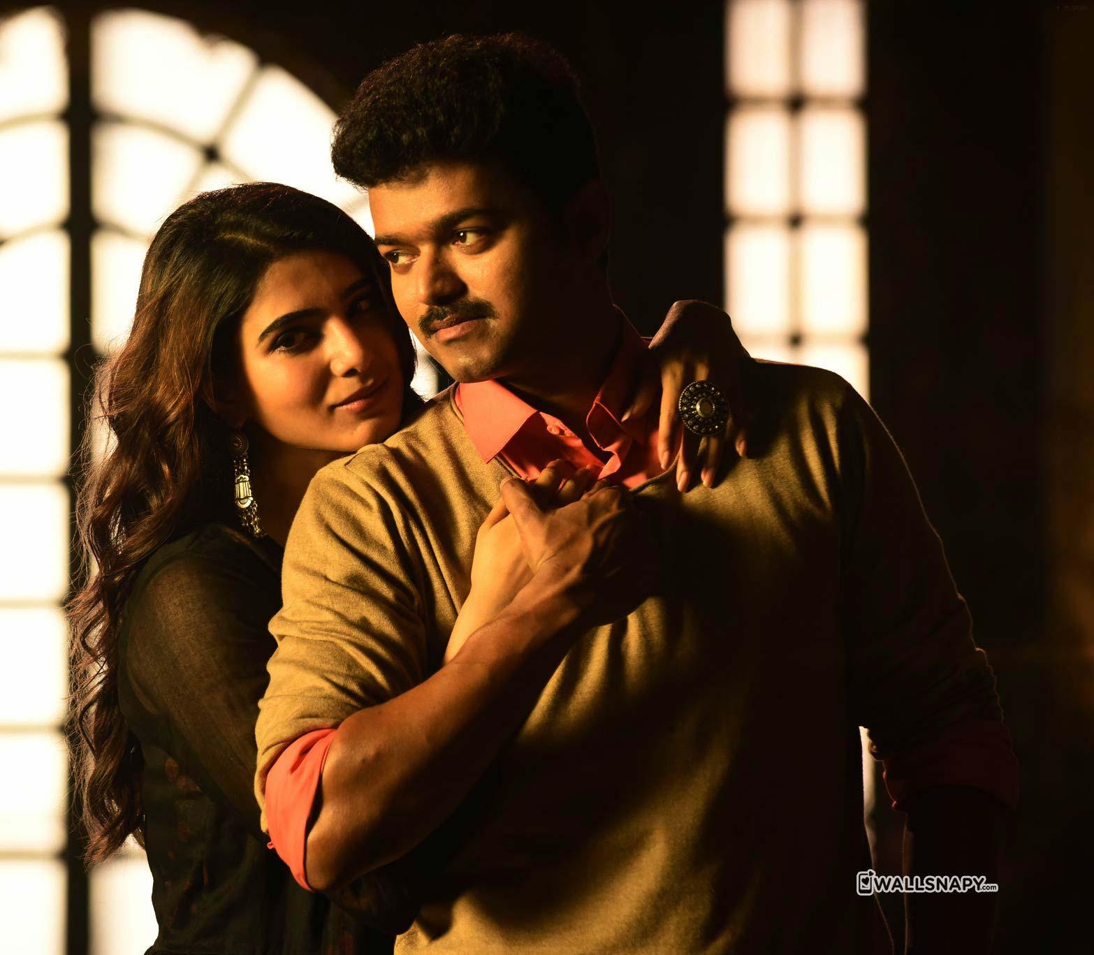 Vijay And Samantha Wallpapers Wallpaper Cave