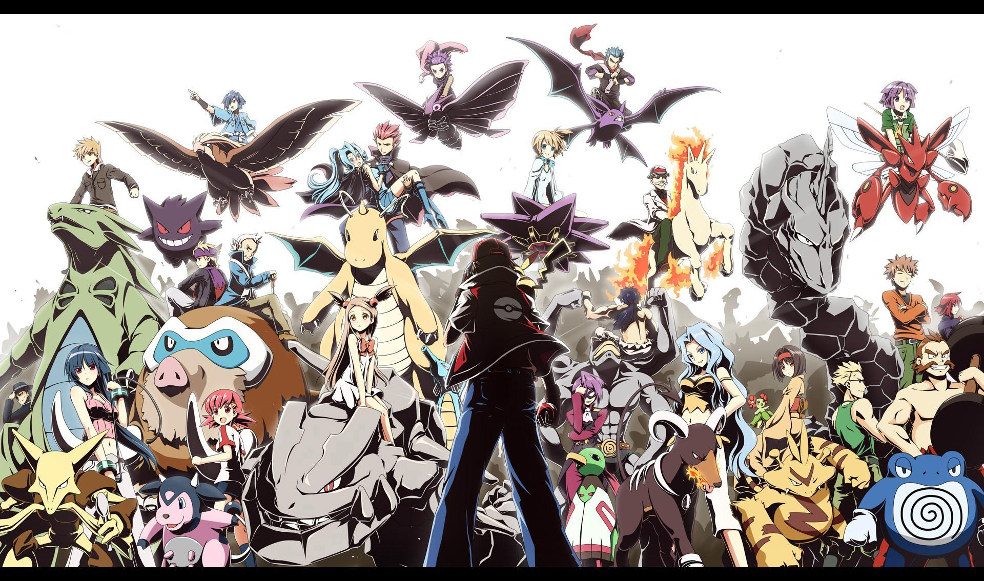 Pokemon Gym Leader Wallpapers Wallpaper Cave
