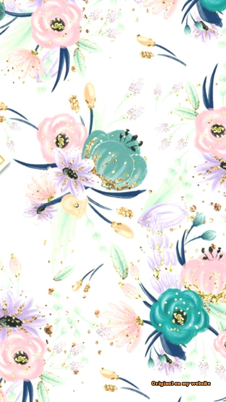 Wallpapers Iphone Aesthetic Spring Flower Pattern /
