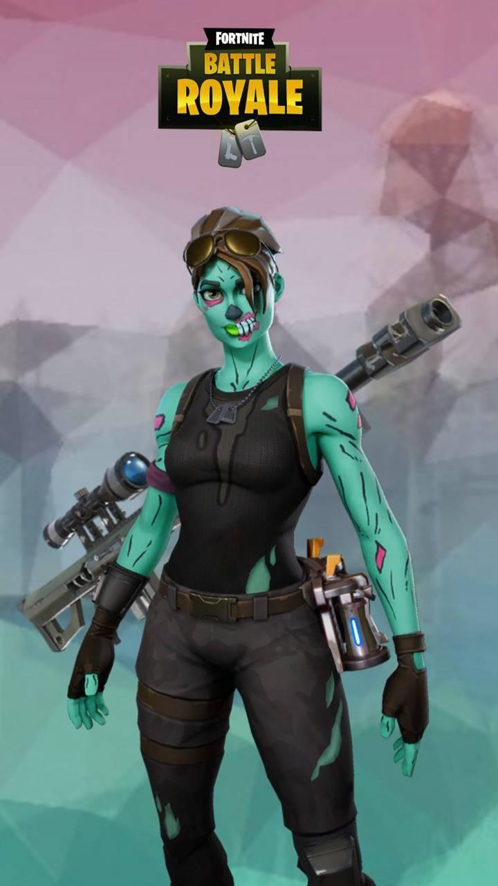 Fortnite Ghoul Trooper iPhone Wallpapers - Wallpaper Cave