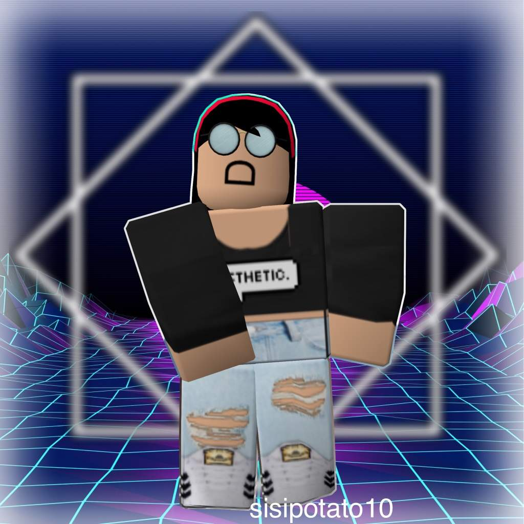 Baddie Aesthetic Female Cute Aesthetic Roblox Gfx Roblox Avatar Wallpapers Wallpaper Cave