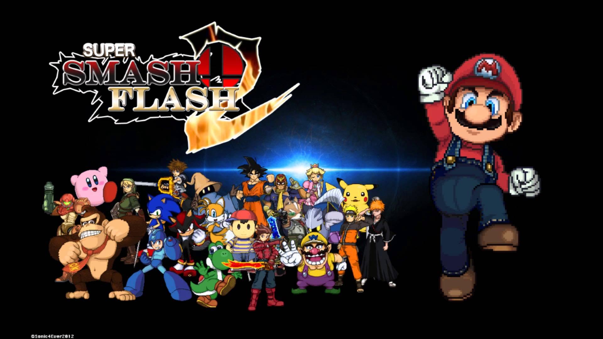 Super Smash Flash 2 Game Wallpapers Wallpaper Cave