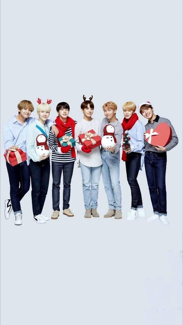 V Bts Merry Christmas Wallpapers Wallpaper Cave