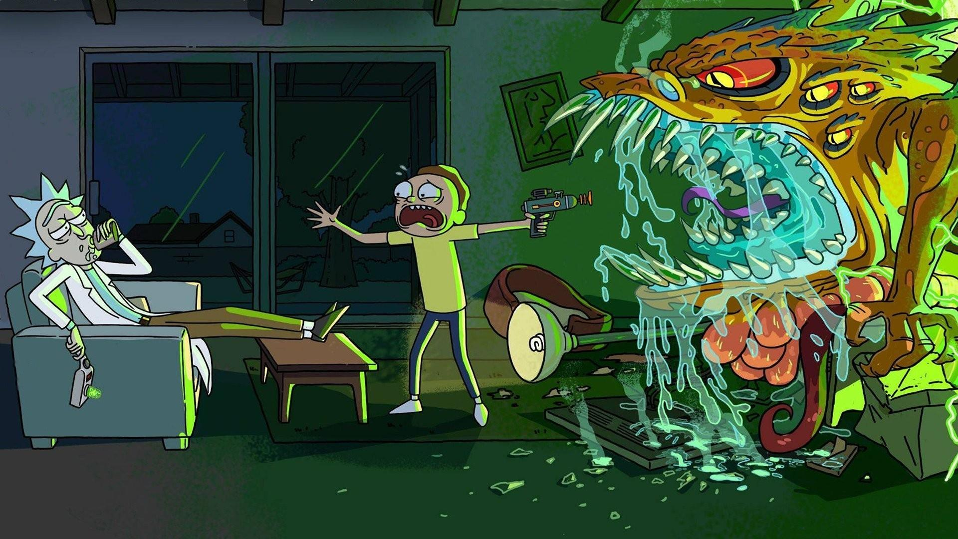 Desktop Rick And Morty Wallpapers - Wallpaper Cave