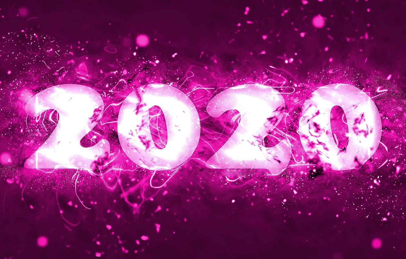 Wallpapers background, New year, New Year, 2020 image for
