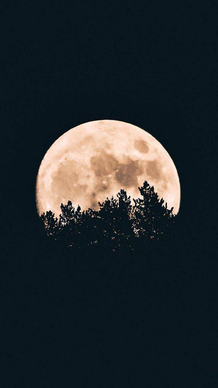 Iphone Xs Moon Wallpapers Wallpaper Cave