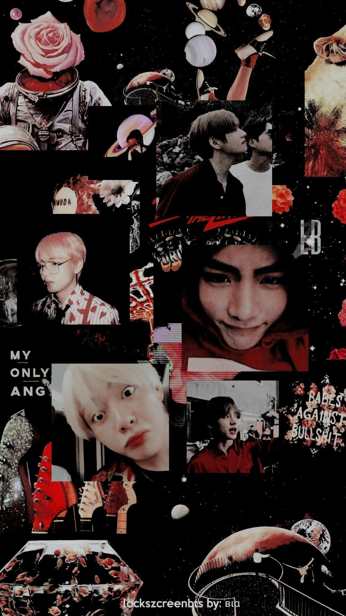 Taehyung Aesthetic Wallpapers / Credits to Twitter