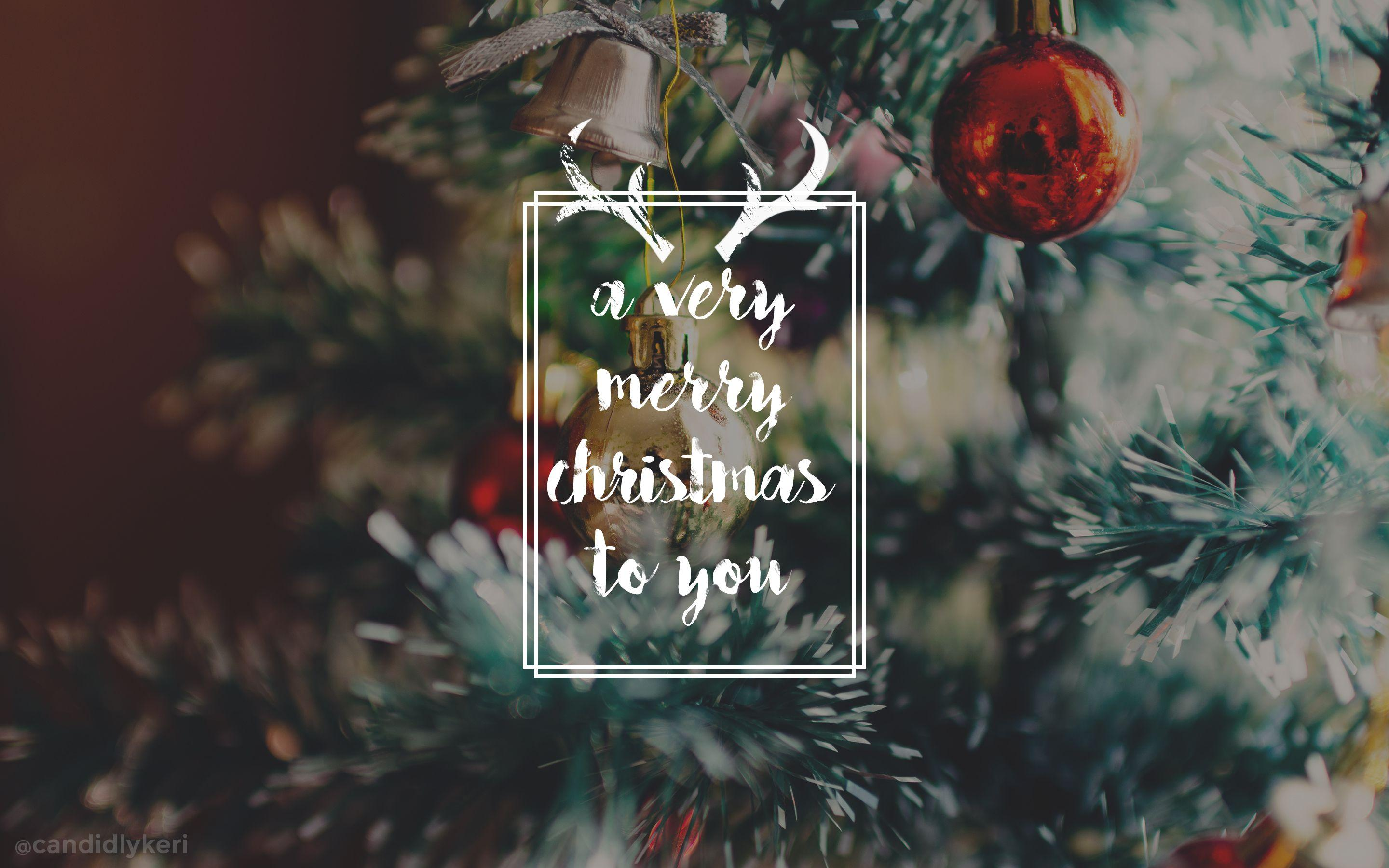 Merry Christmas Aesthetic Wallpapers - Wallpaper Cave