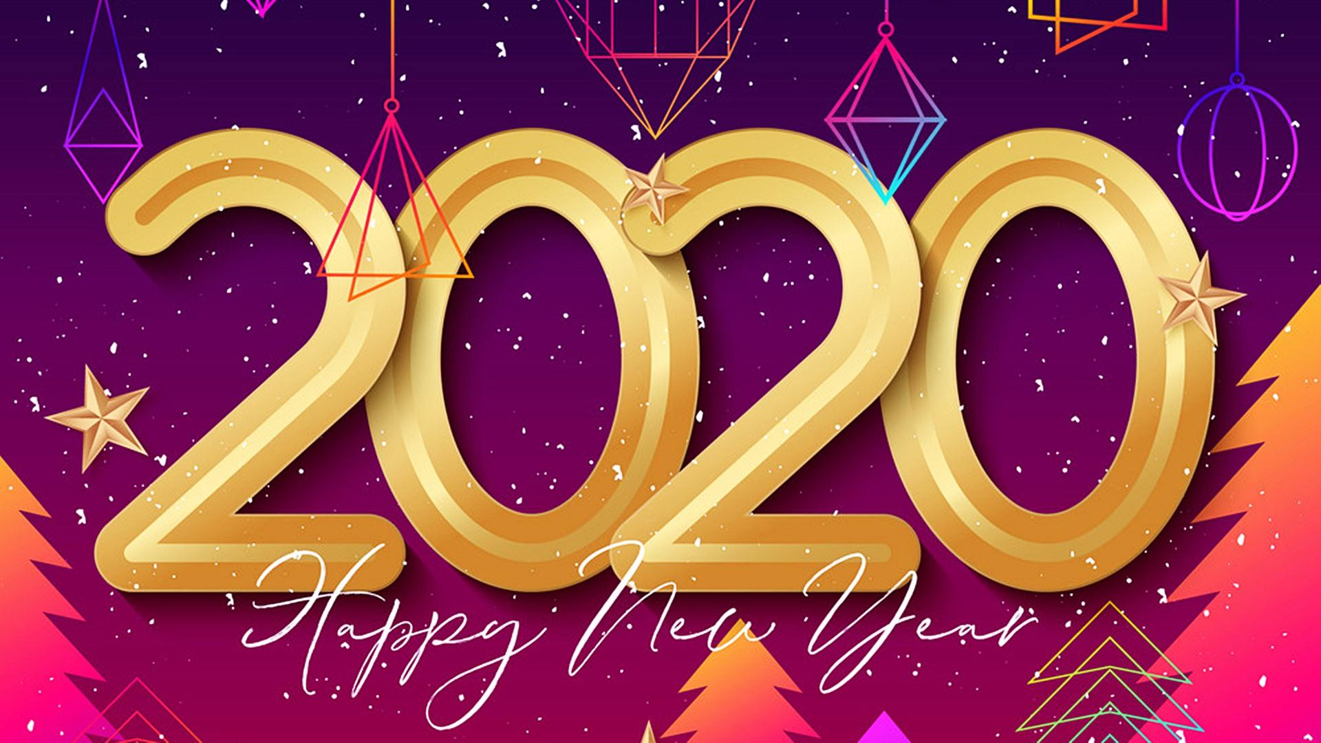Happy New Year 2020 Best HD Wallpapers 45543