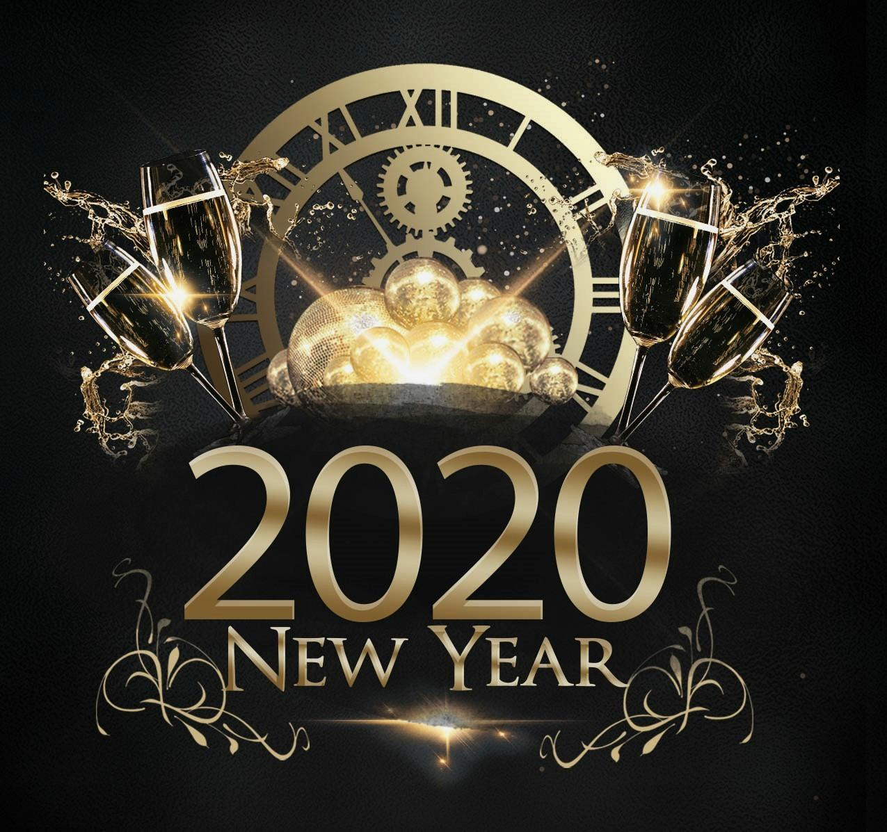 Wallpapers Photo Happy New Year 2020