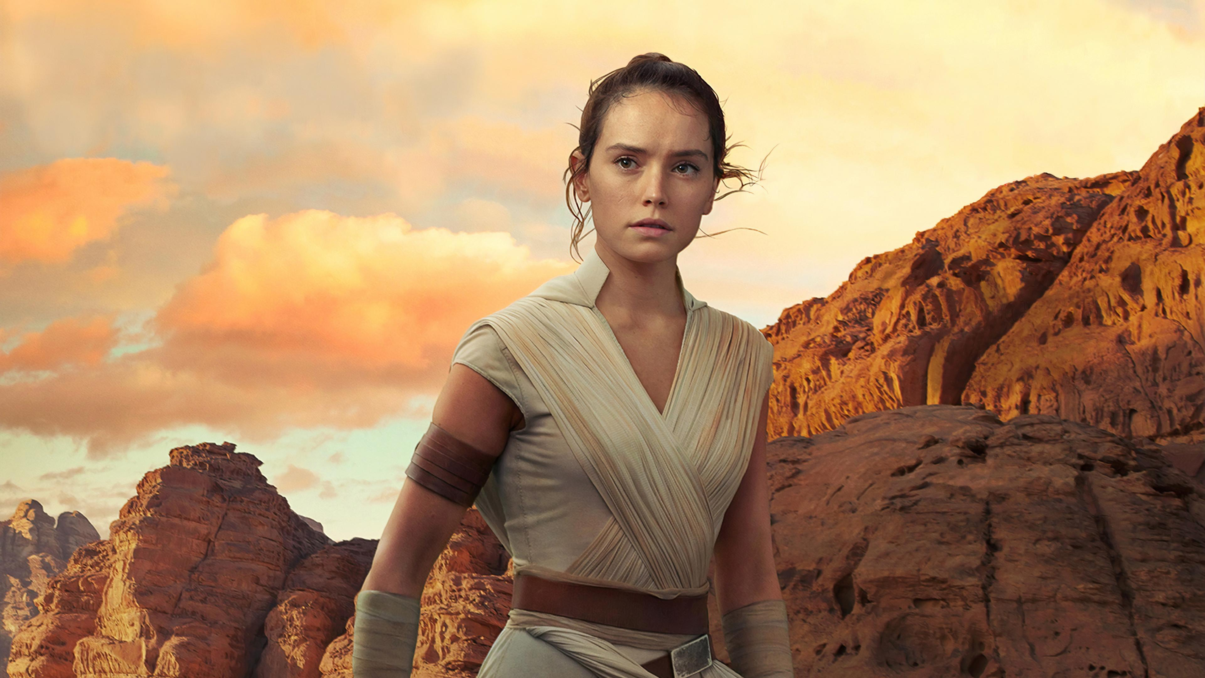 Star Wars The Rise Of Skywalker 2019 Rey Wallpapers Wallpaper Cave