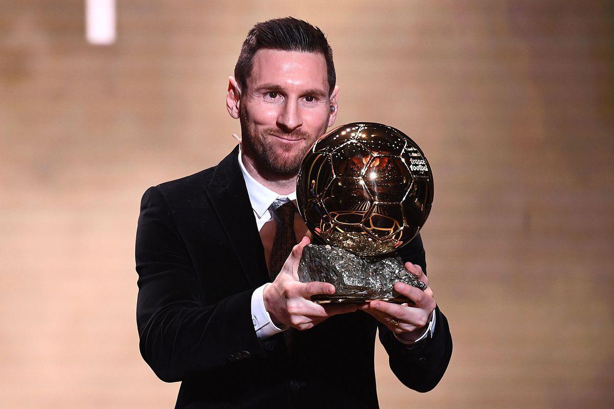 Wallpaper Messi Ballon Dor