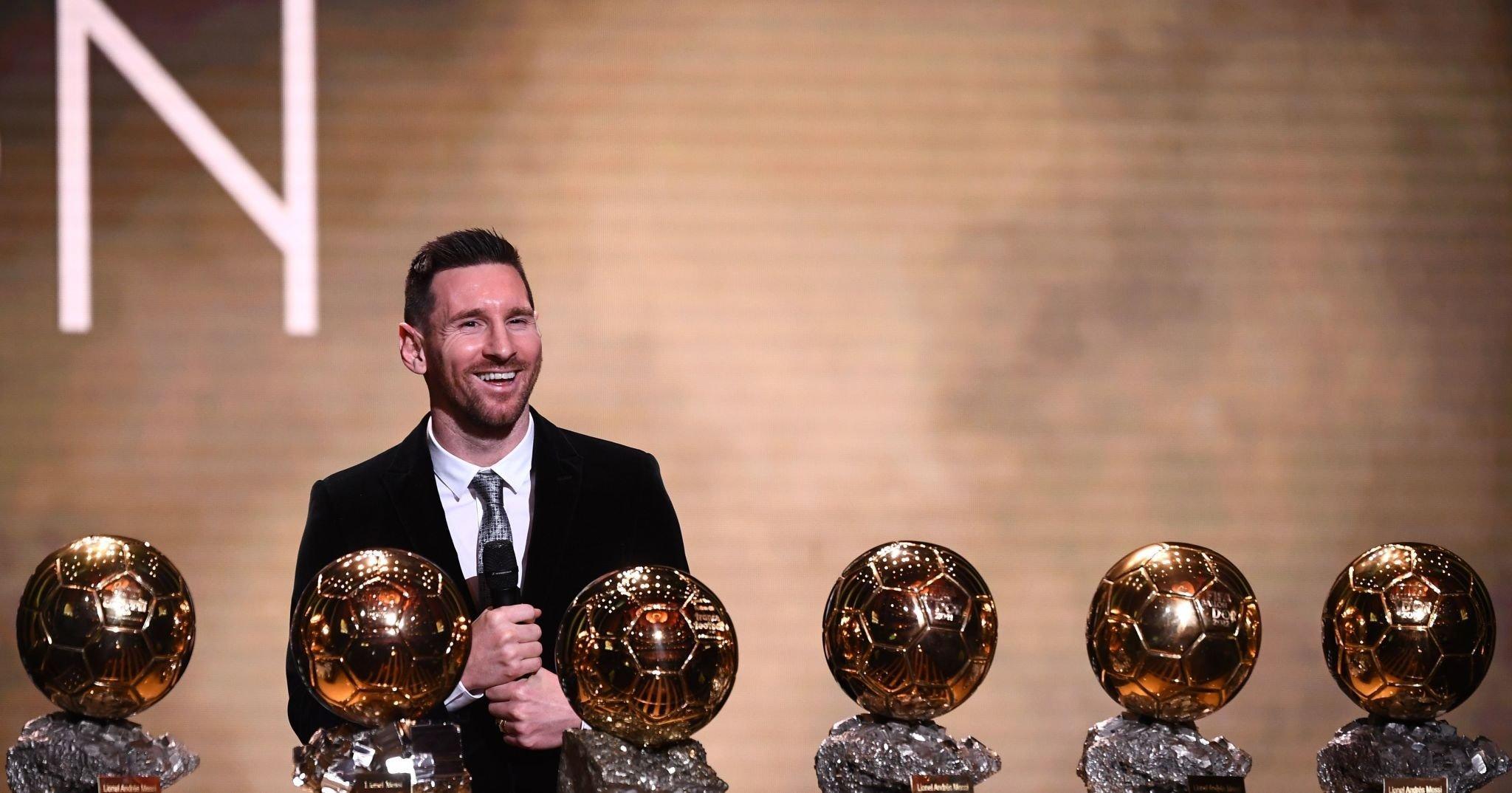 Messi Ballon DOr