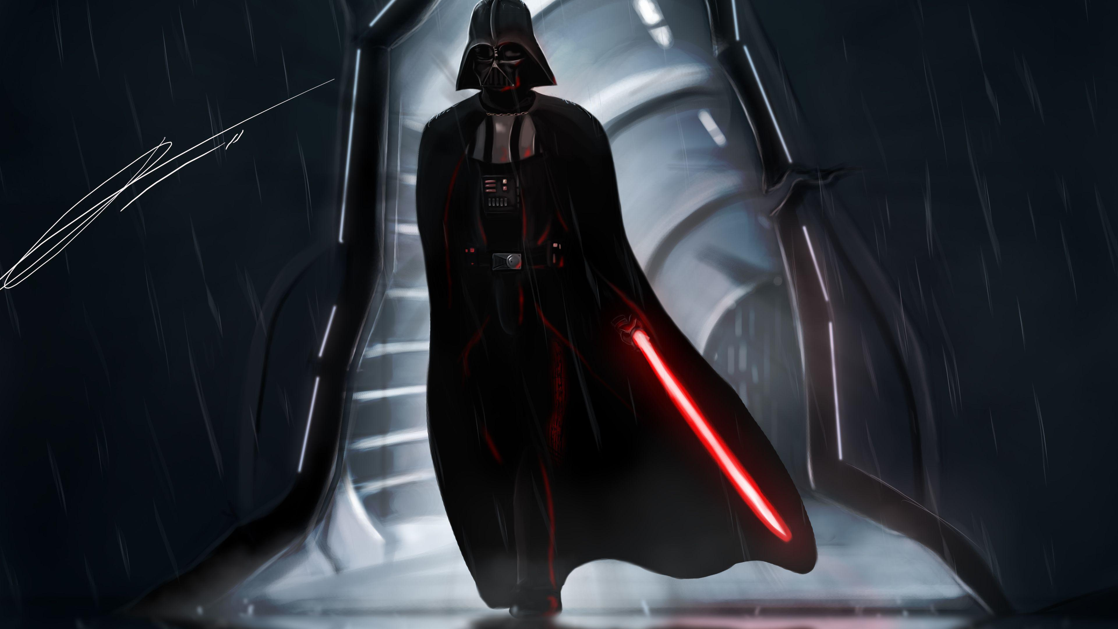 Darth Vader Star Wars Art Wallpapers Wallpaper Cave
