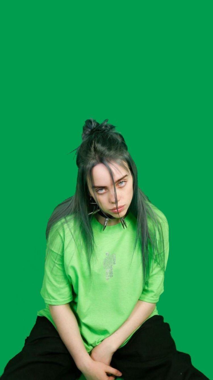 Billie Eilish Green Wallpapers - Wallpaper Cave
