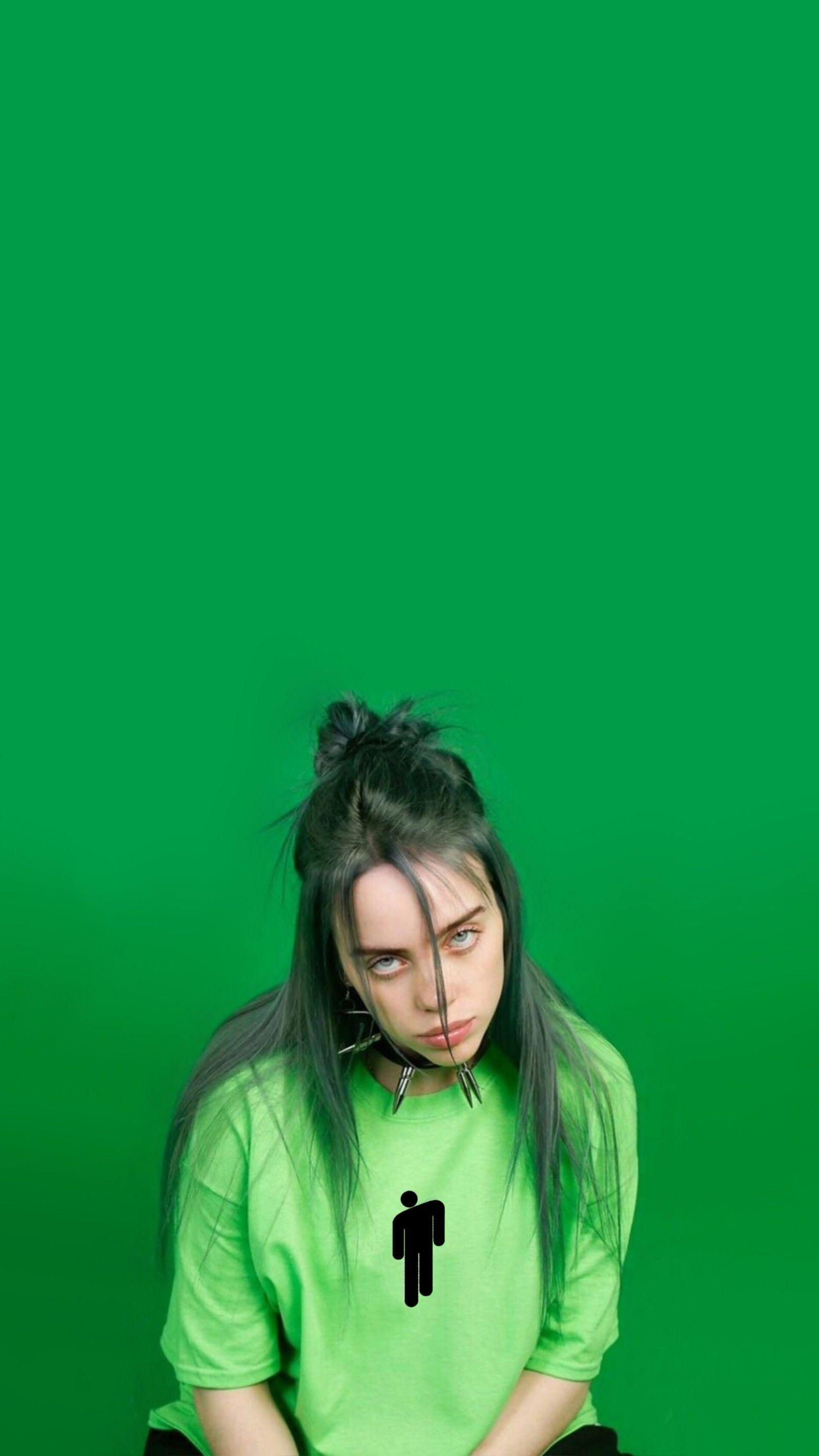 Billie Eilish Green Wallpapers Wallpaper Cave