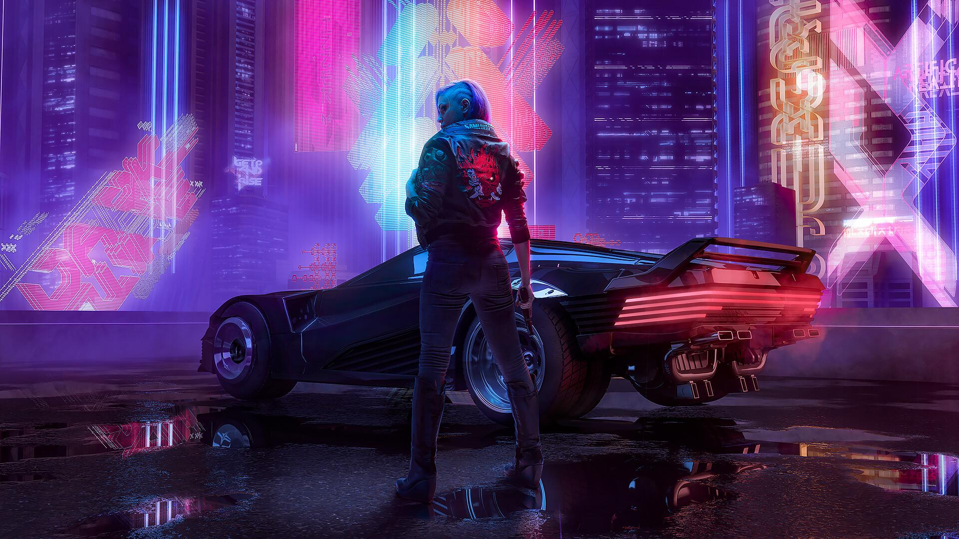 Cyberpunk 2077 Girl 4k Wallpapers Wallpaper Cave
